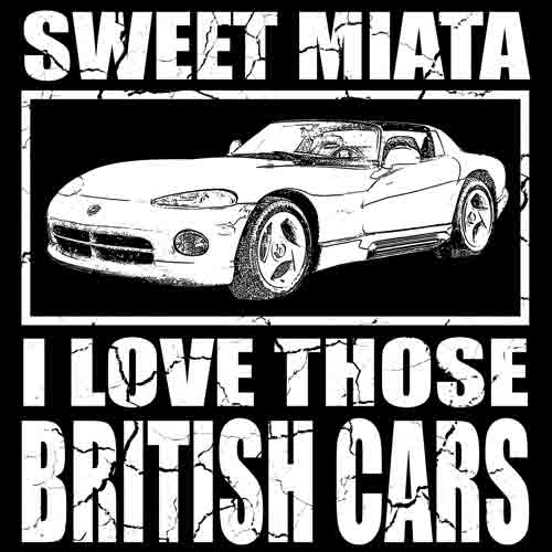 funny Miata T-shirt